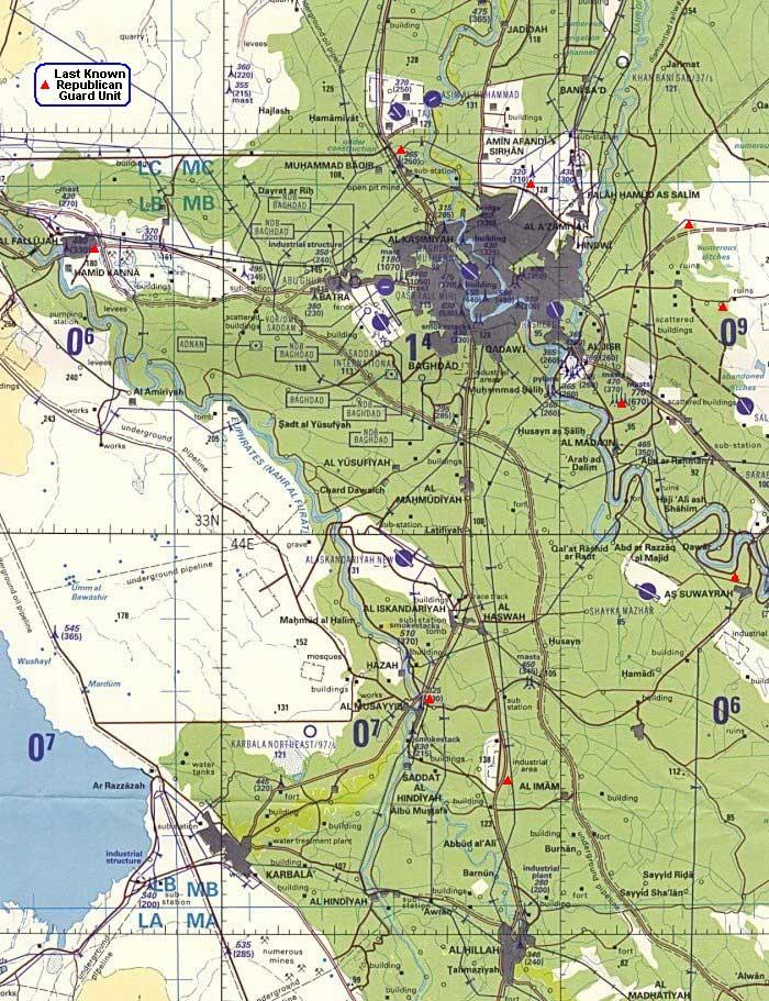 Baghdad-Navigation-Map