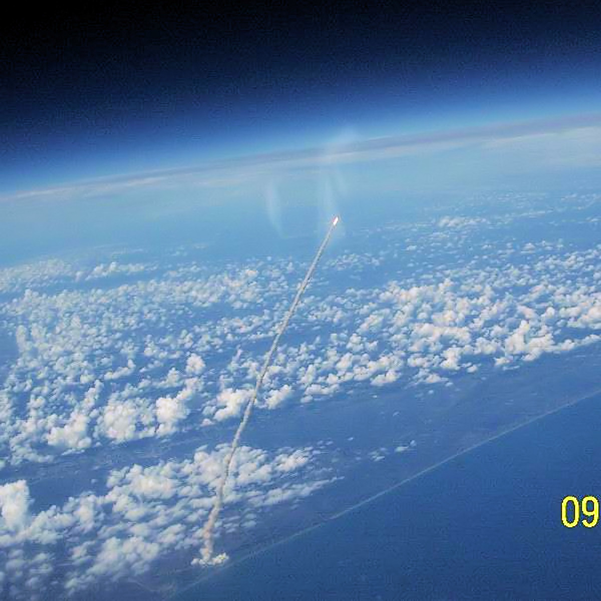 shuttle launch from space station - photo #3
